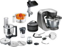 Oranje Bosch MUM5 HomeProfessional MUM59M55 - Keukenmachine - RVS