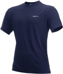 Blauwe Craft Prime Tee Heren Trainingsshirt - Navy - XXL
