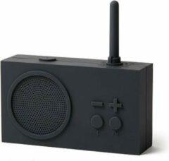 Lexon Badkamer Radio Tykho3 Bluetooth Donkergrijs