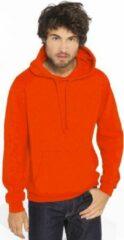 Gildan Oranje sweater/trui hoodie voor heren - Holland feest kleding - Supporters/fan artikelen M (38/50)
