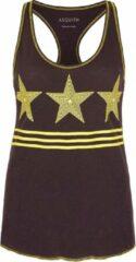 "Grijze Top ""Warrior Racer"" - storm-grey XL Loungewear shirt YOGISTAR"
