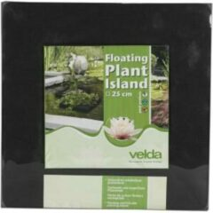 Drijvend planteneiland vierkant Velda - 25 x 25 cm