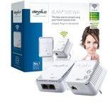Devolo dLAN 500 WiFi - Starter Kit - Bridge - 802.11b/g/n - an Wandsteckdose anschließbar