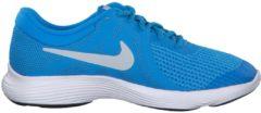 Laufschuhe Revolution 4 (GS) mit Flexkerben 943309-501 Nike Blue Hero/Pure Platinum-Blue Glow-Black