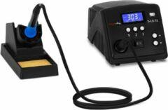 Stamos Soldering Soldeerstation - digitaal - met soldeerbout en houder - 90 W - LCD