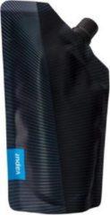 Antraciet-grijze Vapur Anti-Bottle™ heupfles Incognito grey 0.3 liter