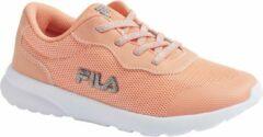 Gele Fila Kinderen Licht oranje sneaker elastiek - Maat 34