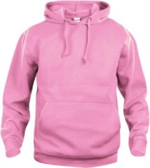Clique Basic hoody Helder Roze maat S