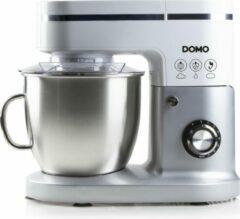Domo DO9231KR - Keukenmachine - 1200W - 6L - Incl. blender - Wit/Zilver