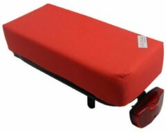 Hooodie Big Cushie Bright Red Solid fietskussen