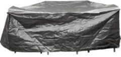 Grijze Lesliliving Tuinsethoes Ø200 cm. - Tuinset beschermhoes - Tuinset cover - Tuinset afdekhoes