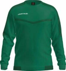 Jartazi Sportsweater Torino Heren Polyester Groen Maat Xl