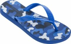 Blauwe Ipanema Classic VI Kids Slippers - Blue/White - Maat 27/28