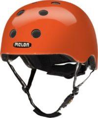 Melon Rainbow Orange Fietshelm - Maat XL-XXL (58-63cm) - Oranje