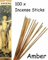 Mysore Amber Wierook 100 Stuks Incense sticks - 25cm