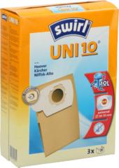 Melitta Haushaltsprod Uni 10 (VE3) (3 Stück) - Staubbeutel für übrige Marken Uni 10 (Inhalt: 3)