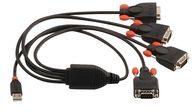 Lindy USB to Serial Converter Lite - Serieller Adapter 42690