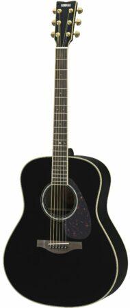 Afbeelding van Yamaha LL6 ARE Black elektrisch-akoestische westerngitaar