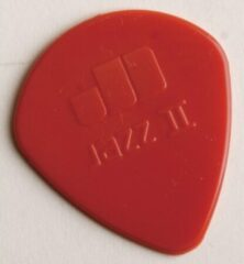 Dunlop Jazz II Nylon 1.18mm 6-pack plectrumset rood