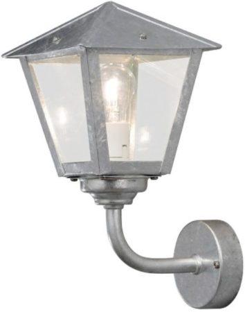 Afbeelding van Konstsmide Benu 439-320 Buitenlamp (wand) Energielabel: Afhankelijk van de lamp Spaarlamp, LED E27 60 W Staal