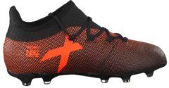 Fußballschuhe X 17.1 FG J mit techfit® Obermaterial S82297 adidas performance CBLACK/SOLRED/SORANG