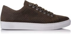Kaki OMNIO VELO SNEAKER ECO Dragon Khaki Embossed Leather - 40
