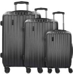 Lima 2.0 4-Rollen Kofferset 3tlg mit Doppelrollen Bugatti schwarz