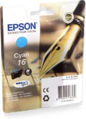 Cyane Epson 16 (T1622) - Inktcartridge / Cyaan
