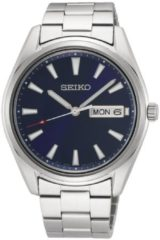 Seiko herenhorloge Quartz Analoog 40,2 mm SUR341P1