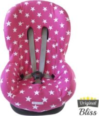 Bliss Maxi-Cosi hoes - Tobi - Axiss - Pearl - Priori - Autostoel hoes groep 1 (+) - Peuter stoelhoes - Ster Roze