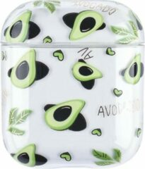 "Greenz products AirPods Case ""Avocado"" - Airpods hoesje - Airpods case - Beschermhoes voor AirPods 1/2"