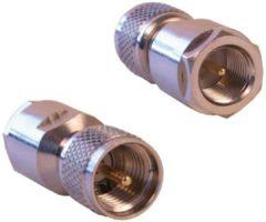Paarse Electrovision Adapter FME mannelijk - UHF Mini mannelijk