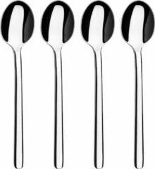 Zilveren Sabatier Moderna - Set koffielepels - 4 stuks