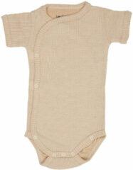 Gebroken-witte Lodger Rompertje Baby - Romper Ciumbelle - Ivoor - Korte mouw - 74