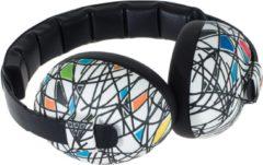 Witte Banz Baby Squiggle Design EM-033 gehoorbeschermer (3-36mnd) SNR:21db