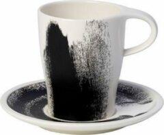Witte VILLEROY & BOCH - Coffee Passion Awake - Koffiebeker&schotel