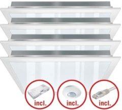 ESYLUX PNLCEL #EQ10131592 - LED-Leuchtenset 4 Leuchten, 3000K PNLCEL #EQ10131592