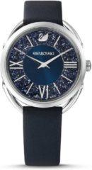 Swarovski 5537961 Horloge Crystalline Glam zilverkleurig-blauw 35 mm