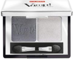 Zilveren Pupa milano Pupa Vamp! Compact Duo Eyeshadow 009 Silver Stone