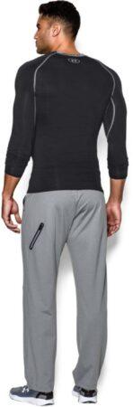 Afbeelding van Zwarte Under Armour Heatgear compressieshirt (lange mouwen) - Onderkleding met compressie