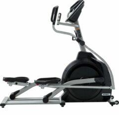 Grijze Spirit Fitness XE295 Crosstrainer / Elliptical Trainer - Uitstekende garantie - Built-in Speakers, verstelbare pedalen, 10 programma's - Vetverbranding / Cardio / Kracht / Intervaltraining - incl. 1 maand gratis Kinomap én gratis hartslagborstband
