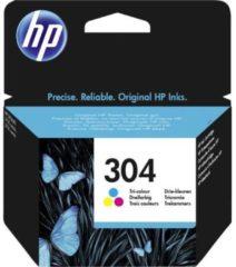 HP 304 Cartridge Origineel Cyaan, Magenta, Geel N9K05AE Cartridge