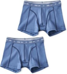 Little Label Jongens Boxershort (2 pack) - blauw - Maat 134-140
