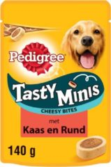 Pedigree Cheesy Tasty Bites Mini - Hondensnacks - 140 g - Hondenvoer