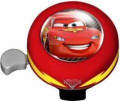 Disney Cars Fietsbel Met Bidon 5/15 Cm Rood/wit 3-delig