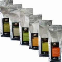 Caffè Duo proefpakket Single Origins Koffiebonen - 6 x 250 gram