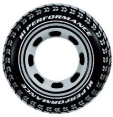 Zwarte Intex zwemband Performance zwart 91 cm