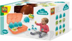 SES Creative speel en leer eieren multicolor 6-delig