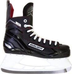 Bauer ijshockeyschaatsen NS Skate unisex zwart/rood maat 47