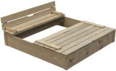 Swing King zandbak Robert 120 x 120 x 25 cm FSC hout blank
